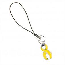 Bladder & Children's Cancer Awareness Charm (Yellow)