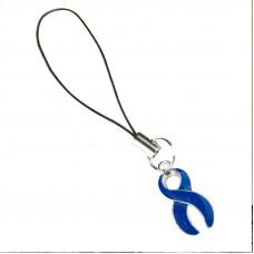 Colon Cancer Awareness Charm (Blue)