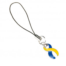 Down's Syndrome Awareness Charm (Blue & Yellow)