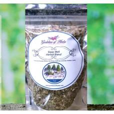 Sleep Well Herbal Blend for Tonic, Tea, Smoke or Incense